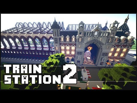 Minecraft: Epic Train Station 2