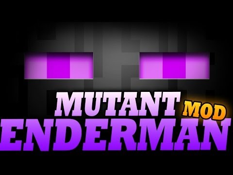 Minecraft Mod | MUTANT ENDERMAN MOD -