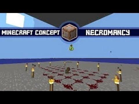 Minecraft Concept: Necromancy in Vanilla Minecraft