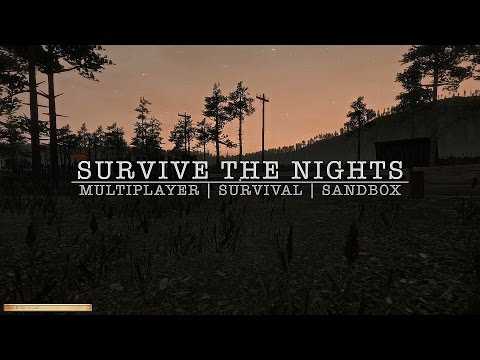 Survive the Nights on Kickstarter, Help us get funded!
