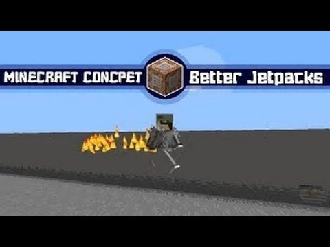 Minecraft Concept: Jet Packs in Vanilla Minecraft [WITHOUT MODS]