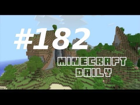Minecraft Daily 19/01/12 (182) - Jungle is Massive! Baby Wolves! Redstone Mastermind!