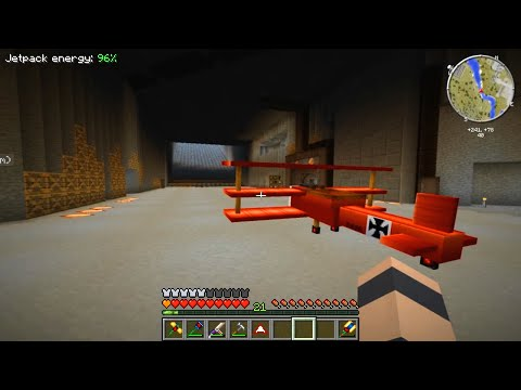 Minecraft CrackPack #19: Aviation Master