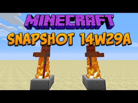Minecraft 1.8: Snapshot 14w29a Water Moves Minecarts & TNT! + FPS Increase!