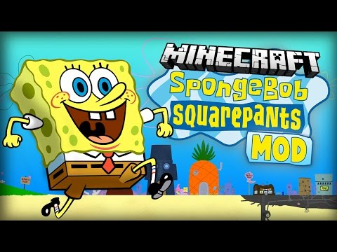 Minecraft Mod | SPONGEBOB MOD -