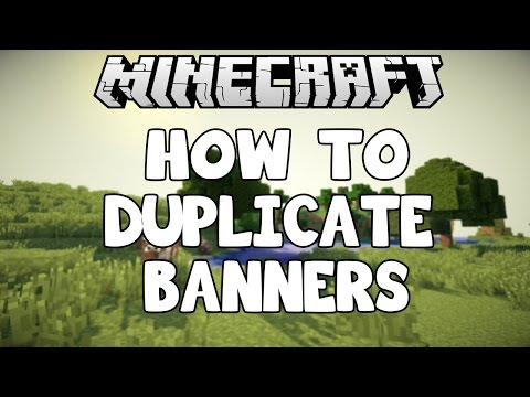 How To Duplicate Banners in Minecraft