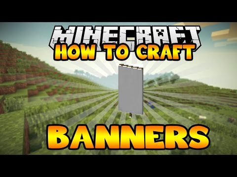How To Craft Banners in Minecraft