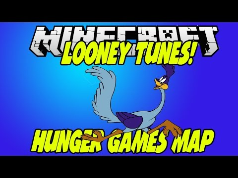 Minecraft: LOONEY TUNES Hunger Games Map Showcase & Download