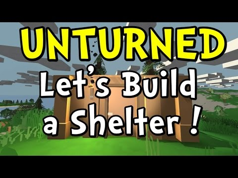 UNTURNED How to Make a House | Step-by-Step Tutorial