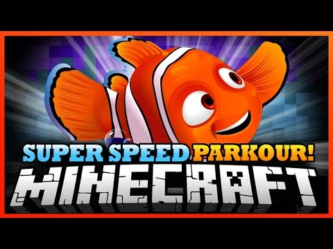 Minecraft | WE FOUND NEMO! - Super Speed Run and Jump Parkour!