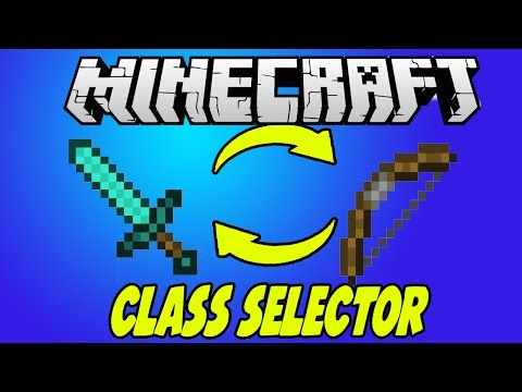 Advanced Class Selector in Minecraft WITHOUT MODS