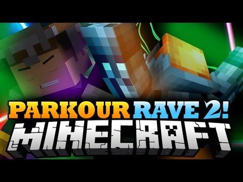 Minecraft 1.8 Parkour | (KLÜB) ICE PARKOUR! - Parkour Rave Pt. 2!