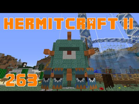 Hermitcraft II 263 Nether Hub Station