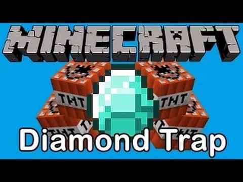 Minecraft | Diamond Troll Trap