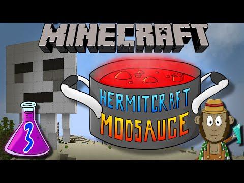 Minecraft Mods - Ghast Ship - Hermitcraft ModSauce #3