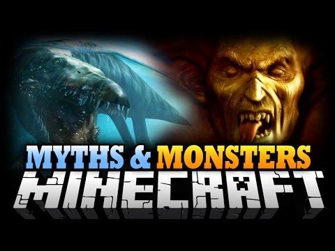 Minecraft Mod | MYTHS AND MONSTERS MOD! - Mythical Mobs Mod Showcase