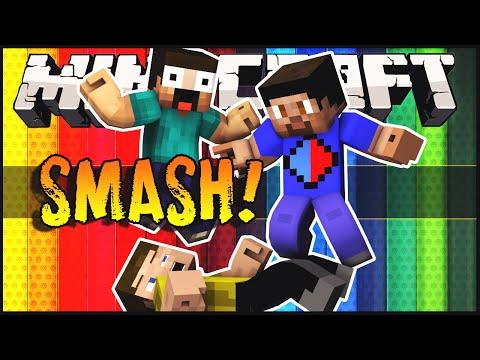 Minecraft Mini-Game: Smash! w/ Vikkstar123