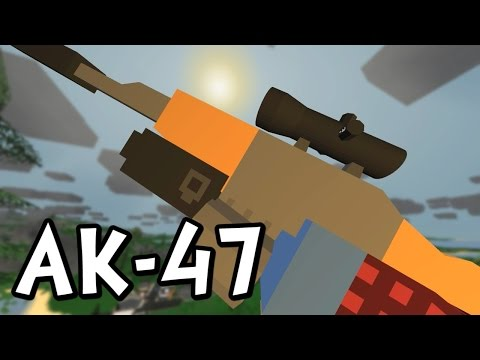 UNTURNED - How to Find the Zubeknakov AK-47 / AK-74 (Guide / Tutorial)