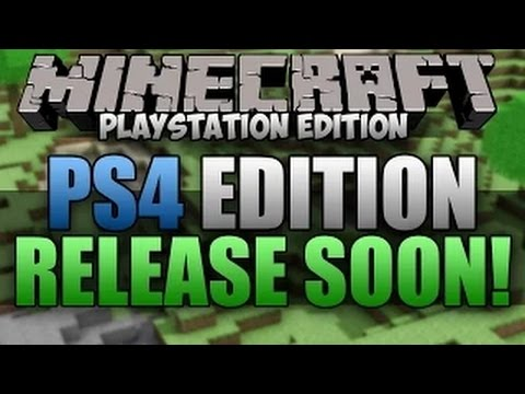 Minecraft PlayStation 4 Release Date SOON! CERT TESTING!