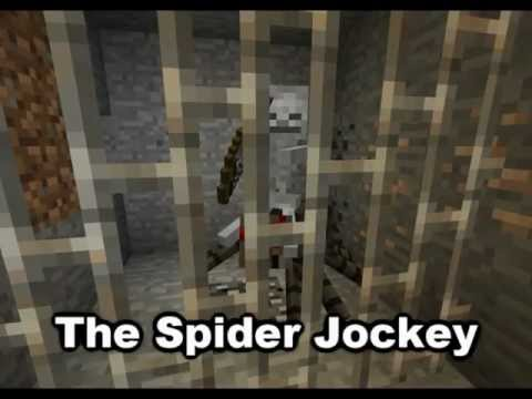 Minecraft Mob Guide - Spider Jockey [HD]