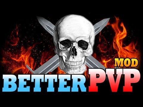 Minecraft Mod   BETTER PVP MOD - How to Be Good at PVP! - Minecraft Mod Showcase