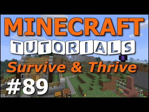 Minecraft Tutorials - E89 Ender Dragon and Egg! (Survive and Thrive Season 7)