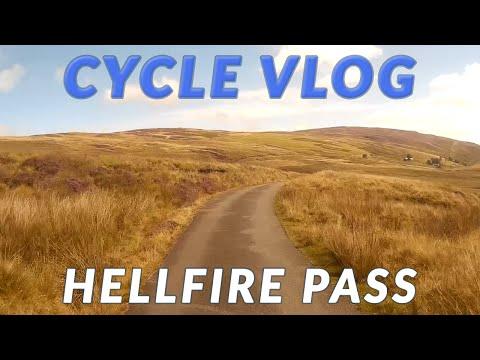 Cycling Vlog: Hellfire Pass, Snowdonia, Wales