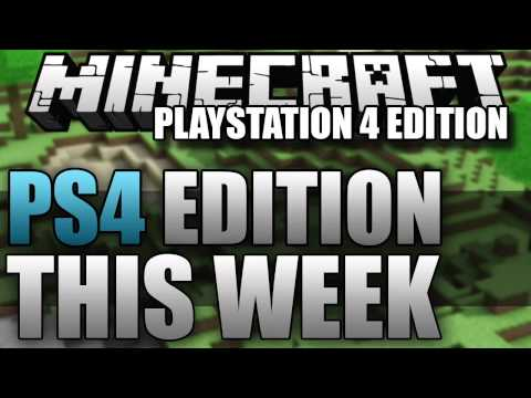 Minecraft Playstation 4 RELEASE DATE CONFRIMED!