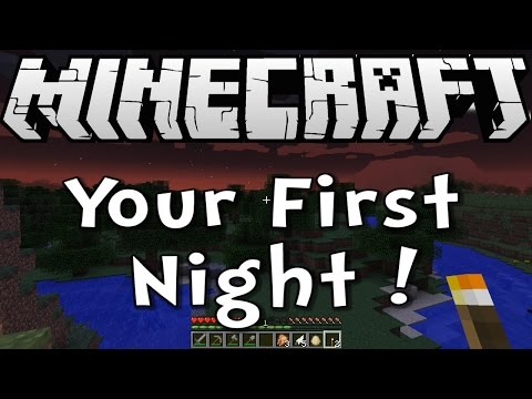 Minecraft Tutorial - How to Survive your First Night - Survive & Thrive Season 8