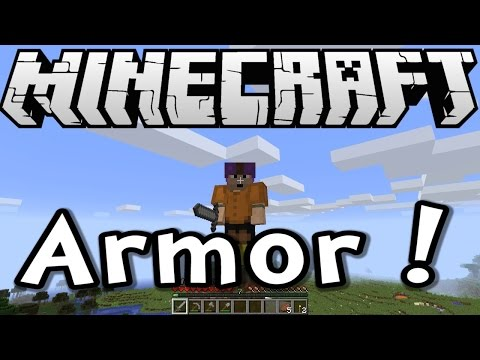 Minecraft Tutorial - Crafting Armor - Episode 3 of Survive & Thrive Season 8