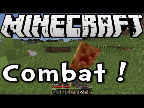Minecraft 1.8 Tutorial - Combat Training! (Survive & Thrive S8 Ep04)