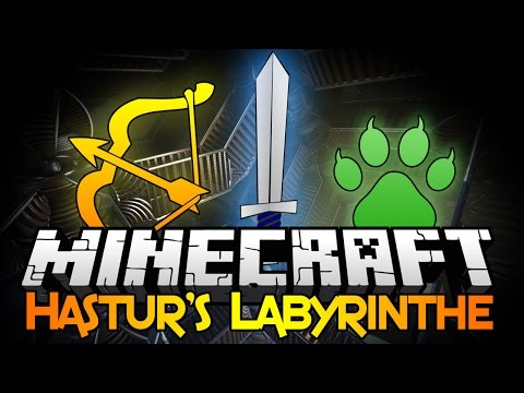 ★Minecraft 1.8 HASTUR'S LABYRINTH ★ w/ BajanCanadian, Logdotzip, and Vikkstar • Minecraft 1.8