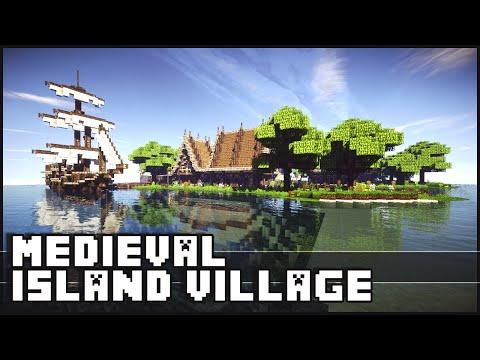 Minecraft - Medieval Island Village