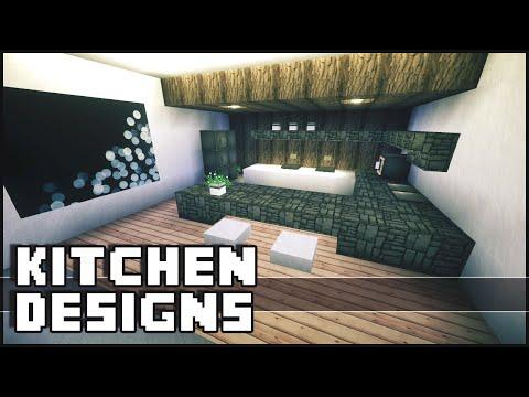 Minecraft videos modern for Kitchen designs minecraft