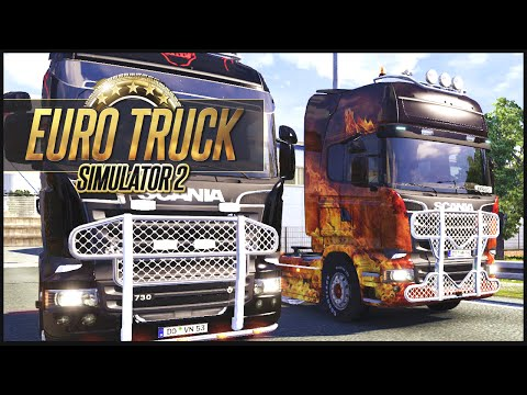 Euro Truck Simulator 2 MP w/ DaSquirrelsNuts - UK to PL - Part 2