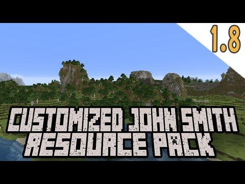 Minecraft 1.8 - Custom John Smith Resource Pack Update!