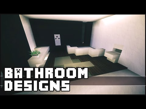 minecraft bathroom designs ideas - Minecraft Bathroom Designs
