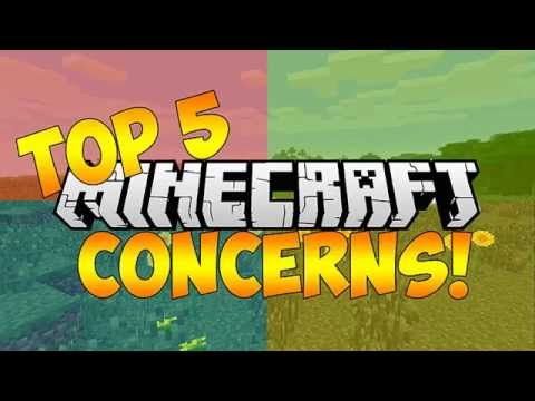 TOP 5 WORRIES ABOUT MICROSOFT BUYING MINECRAFT