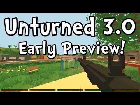UNTURNED 3.0 Early Preview Test!