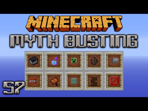 Mini Myths 3 [Minecraft Myth Busting 57]