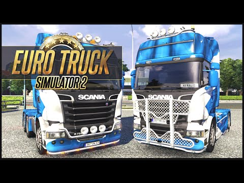 Euro Truck Simulator 2 MP w/ DaSquirrelsNuts - PL to FR - Part 2