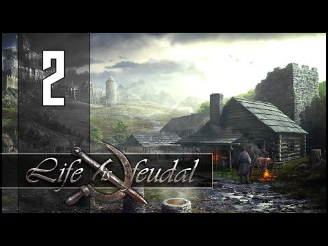 Life is Feudal - Ep.02 w/ Sl1pg8r - Epic Moose Boss Fight!
