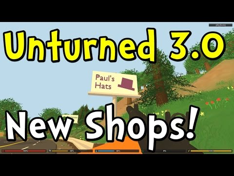 UNTURNED 3.0 Update - Gun Attachments and New Stores!