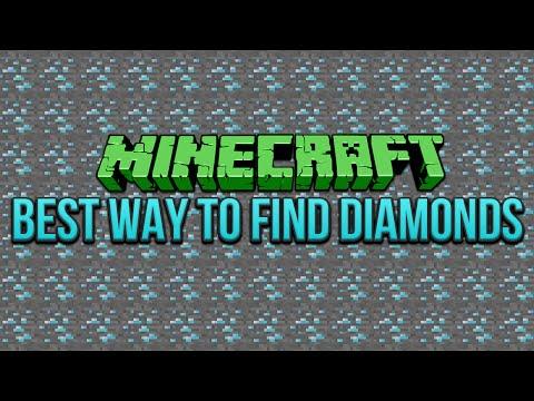 Best Way To Find Diamonds Minecraft 1.8 Tutorial