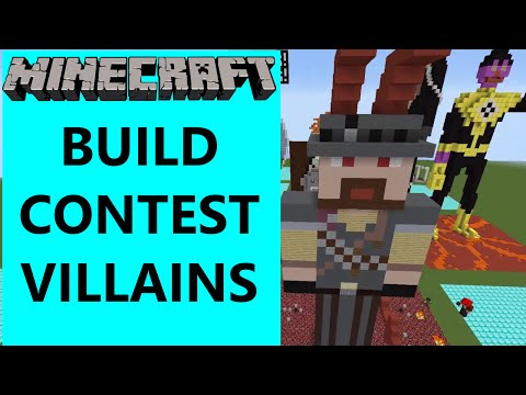 Minecraft - Build Contest - Villains