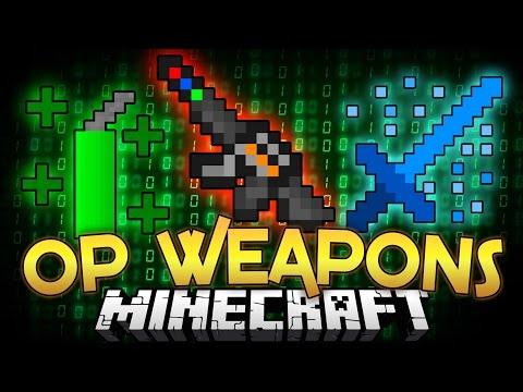 Minecraft Mod | ADMIN OP WEAPONS MOD! - Minecraft Mod Showcase