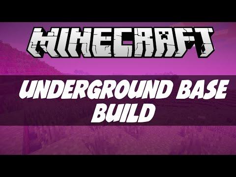 Minecraft  Underground House Building Challenge!