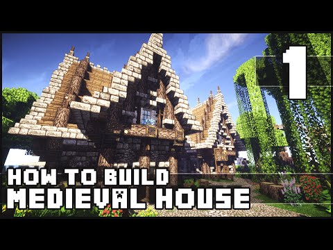Minecraft - How to Build : Medieval House - Part 1