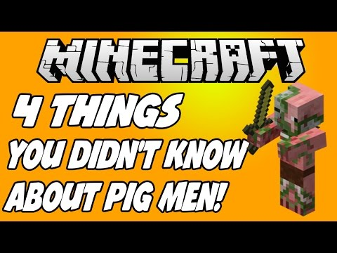4 THINGS YOU DIDN'T KNOW ABOUT ZOMBIE PIGMEN!