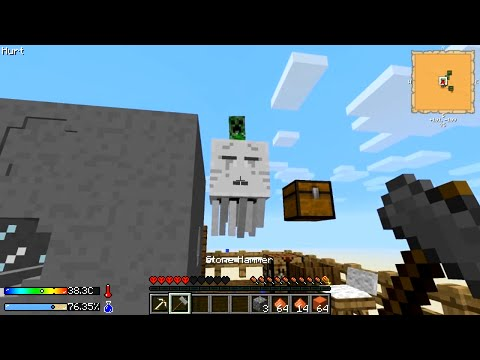 Minecraft - Crash Landing #11: Dire Straits!